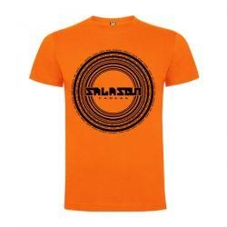 camiseta Naranja logo Salason
