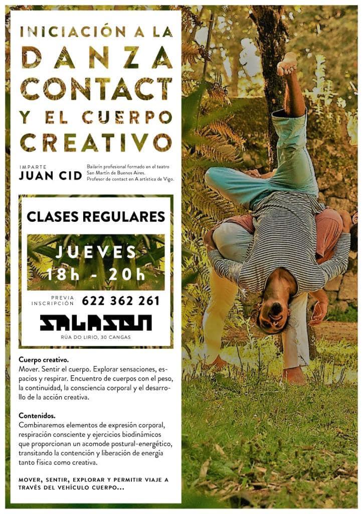 Iniciación a la Danza Contact y el Cuerpo Creativo